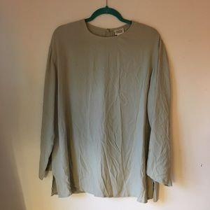 Eileen Fisher silk blouse